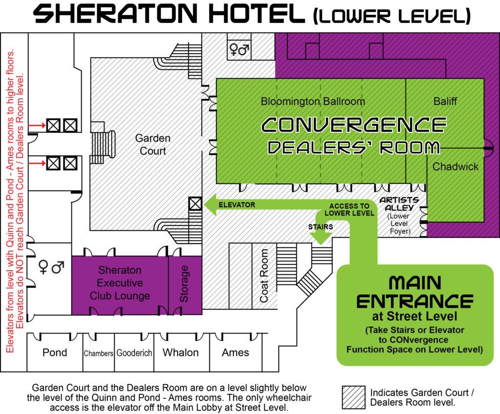 CVG 2016 - Sheraton Map