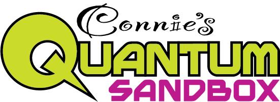 Connie's Quantum Sandbox Logo 1