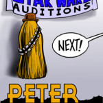 Peter Mayhew 2001 Badge