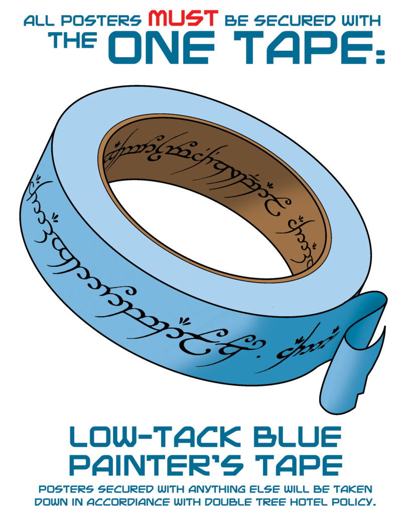 One True Tape Poster