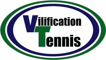 vilification tennis logo