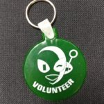 Green Key Chain