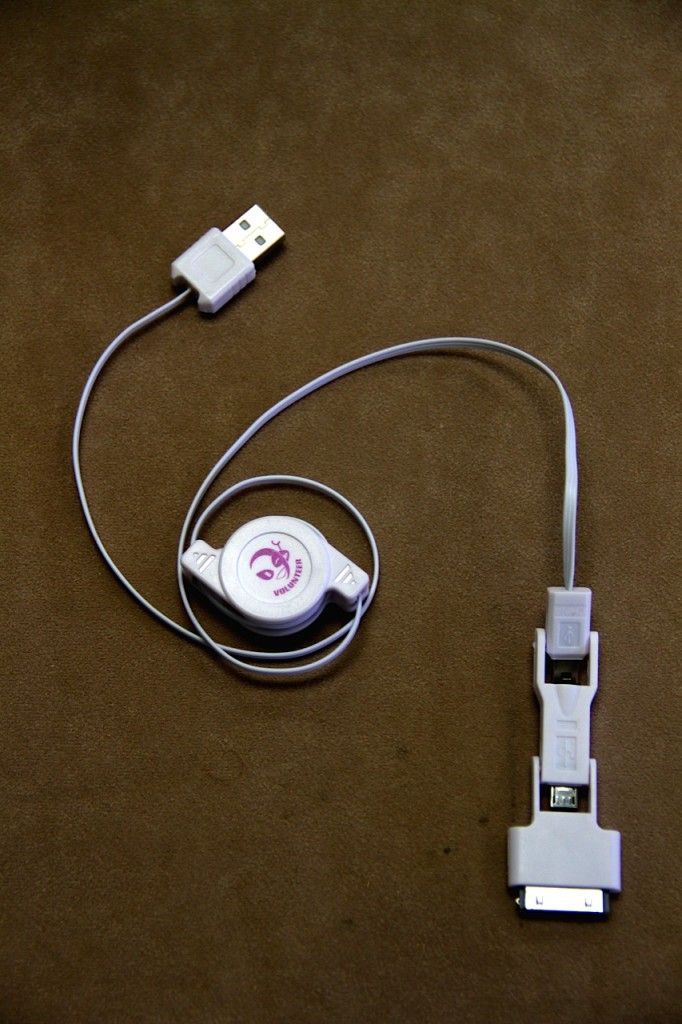 3-way charging cable