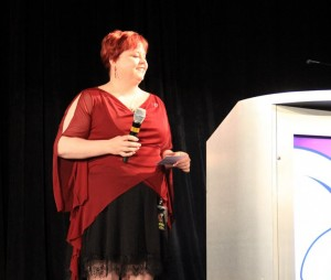 Tish Cassidy at CONvergence 2012 by Peter Verrant