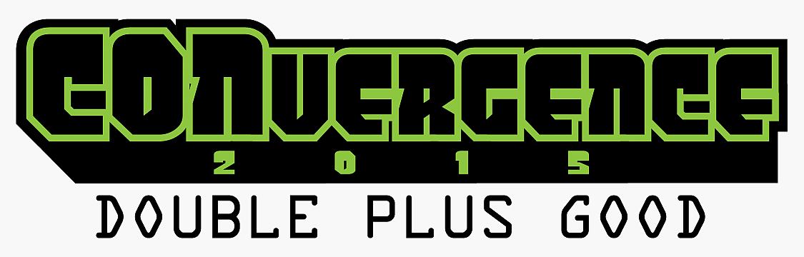 CONvergence 2015: DoublePlusGood Logo