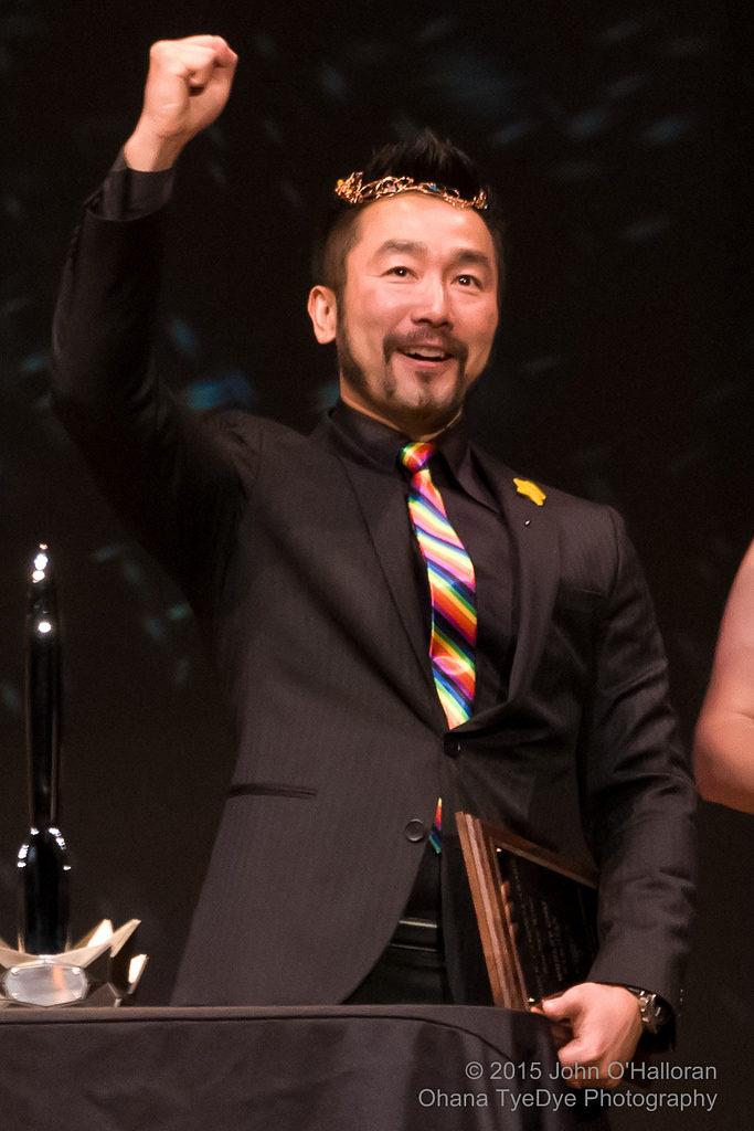 Wesley Chu at the Sasquan 2015 Hugo Awards Ceremony