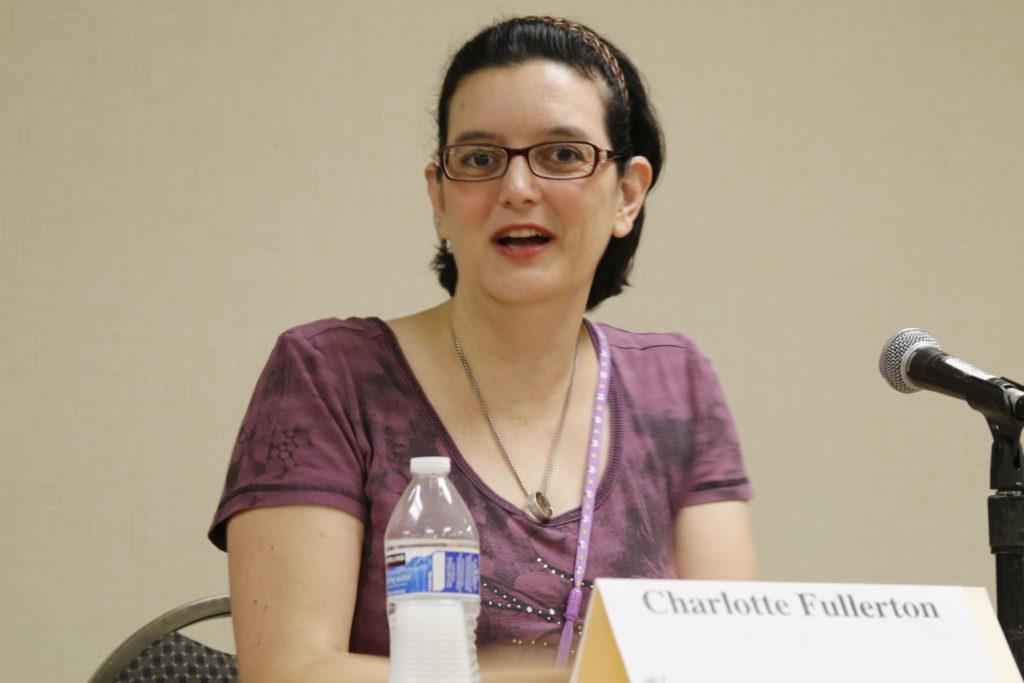 Charlotte Fullerton at CONevrgence 2016