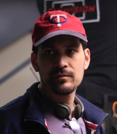 Photo of Ian Truitner wearing a Twins baseball cap