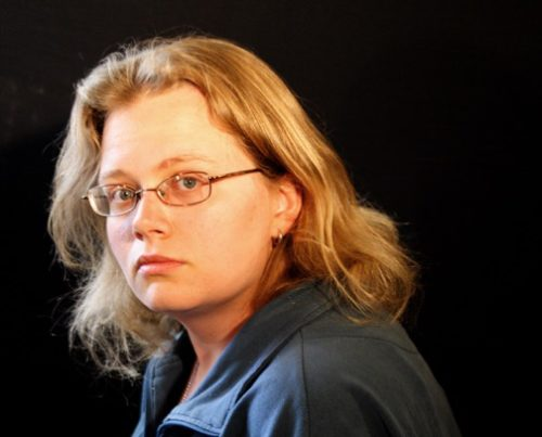 Head shot of Seanan McGuire